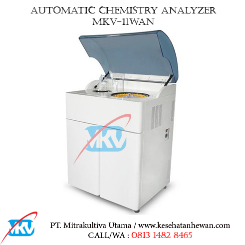 Automatic Chemistry Analyzer MKV 11WAN Recovered B - Peralatan Klinik dan Laboratorium