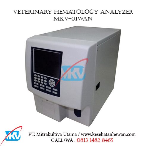 Veterinary Hematology Analyzer MKV 01WAN B - Peralatan Klinik dan Laboratorium