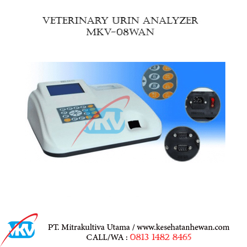 Veterinary Urin Analyzer MKV 08WAN B - Peralatan Klinik dan Laboratorium